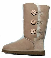 UGG AUSTRALIA WOMENS bailey button triplet BOOTS sand  STYLE 1873