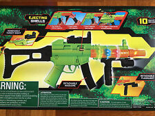 New Adventure Force Action Rifle Machine Gun Kids Toy w/Lights Sound +10 Bullets
