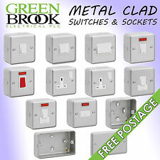 GreenBrook Metal Clad Sockets & Switches