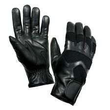 Cold Weather Leather Shooting Gloves - Breathable Waterproof Insert