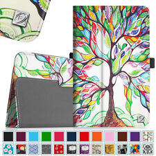 """PU Leather Case Folio Stand Cover for Sprint Slate 8"""" 4G LTE Tablet (AQT80)"""