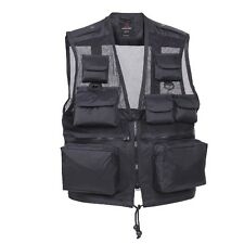 6484 Rothco Black Tactical Recon Vest