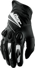 Thor Mens Black/White Insulator Dirt Bike Gloves MX ATV 2016