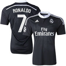 YOUTH F49266 REAL MADRID Y-3 DRAGON UCL AWAY 3rd JERSEY 2015 CRISTIANO RONALDO
