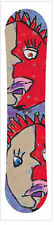 Kids Snowboard WSD 2016 model Snowboard Face, Wood core , Steel edges Brand New