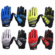 2016 Genuine Giant Cycling Bicycle Full Finger Bike Gloves Antiskid  Gel Padded