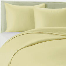 400TC Egyptian Cotton 1pc  FITTED SHEET Sateen Solid Light Gold