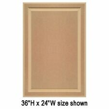 """Unfinished MDF Cabinet Doors, Square with Raised Panel by Kendor (25""""H & Up)"""