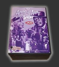 AMOS AND ANDY DVD COLLECTION COMPLETE SET 75 DIGITALLY RESTORED EPISODES