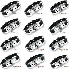 Good Fashion Punk Rubber Stainless Steel Wristband Women Bangles Bracelets New