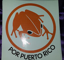 Rare ! Puerto Ricans for Puerto Rico Party sticker from 2008 election, mint