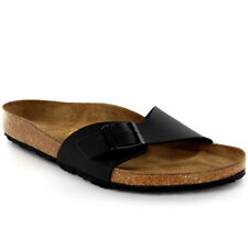 Mens Birkenstock Madrid Slip On Holiday Buckle Summer Beach Sandals UK 6-13