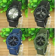 Mens Watches Quartz Stainless Steel Analog Sports Wrist Watch Boys Watches Army