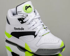 Reebok Court Victory Pump mens lifestyle casual sneakers retro NEW white volt