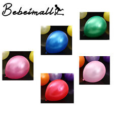 New 100PC 12' Latex Balloons Party Birthday Wedding Baby Shower Decor Large