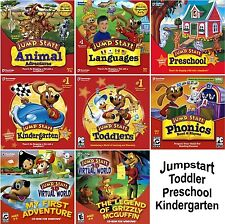 JUMPSTART Toddler PRESCHOOL Kindergarten PC Windows NEW Factory Sealed