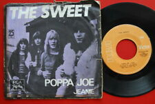 "SWEET POPPA JOE/JEANIE 1972 UNIQUE COVER RARE EXYU 7""PS"