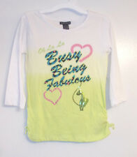 Baby Phat Girls Shirt Busy Being Fabulous Size Large 10-12  NWT