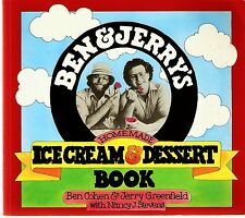 Ben and Jerry's Homemade Ice cream & Dessert book -paperback 1987