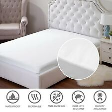 Mattress Protector Cover Bed Bug Hypoallergenic Overfilled Pad Soft Warm
