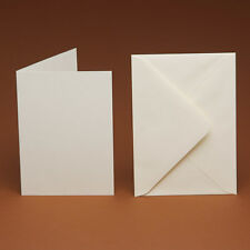 500 A6 Blank excellent Quality Cards & 500 C6 Envelopes (ivory, white, cream)