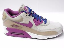 NIKE WOMENS AIR MAX 90 LEATHER UK SIZE 4 6 7 RUNNING TRAINERS SHOES FITNESS