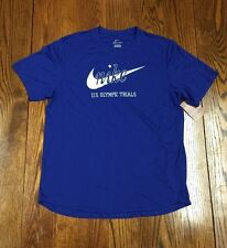 Nike USA Track & Field Olympic Trials Prefontaine DriFit Running Tee NEW