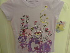 "NWT Dr. Seuss Little Girls ""If I Ran The Circus"" Pink Metallic SS Tee: Size 4-6X"