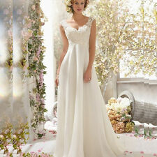 ROBE DE MARIEE WEDDING DRESS élégante mousseline de soie
