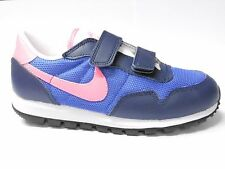 Nike Metro Plus CL Toddler Size 12 13 Royal Blue Pink Trainer Shoe Run RRP £35/-
