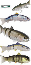 "SPRO BBZ-1 JR. SWIMBAIT 6"" SLOW SINKING select colors"