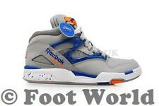 Mens Reebok Pump Omni Lite - M41447 - Grey Blue Orange Trainers