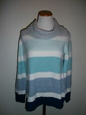 Style & Co Womens Cowl Neck Striped Sweater S M L XL NWT $49.50