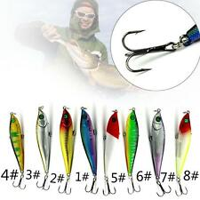 Colorful Multi Models Fishing Lures Plastic Mix Minnow Lure Crank Bait Tackle PK