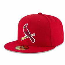 New Era St. Louis Cardinals Red Game Diamond Era 59FIFTY Fitted Hat