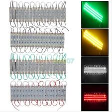 20pcs 3LED Module 5050 SMD Waterproof Lamp LED Strip String Light Decor DC 12V