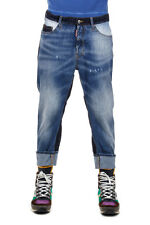 DSQUARED2 Dsquared² Men 19 cm BIG DEAN'S BROTHER Jeans Made In Italy