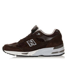 NEW BALANCE Men Brown Leather CLASSICS Sneakers Shoes New with Tag