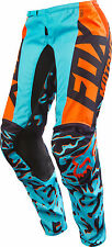 Fox Racing Womens Aqua Blue/Orange/Purple 180 Dirt Bike Pants MX ATV 2016