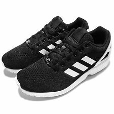 adidas Originals ZX Flux EM Black White Mens Casual Shoes Sneakers S76499