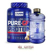 USN Premium Pure Protein GF-1 2.2kg Whey Isolate Powder + Free Protein Samples