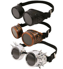STEAMPUNK GOGGLES VICTORIAN SCI-FI FANCY DRESS RETRO GOTHIC 1800S ACCESSORY