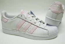 Adidas Superstar GS White Cloud Pink Snake Juniors Womens Girls Trainers BY2031