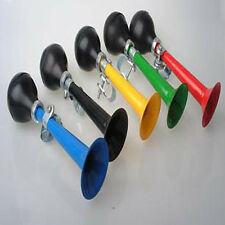 Bicycle Bike Retro Metal Air Horn Hooter Bell Bugle Rubber Squeeze Bulb