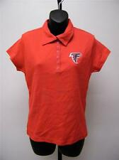 New Atlanta Falcons Womens sizes M-L-XL Red Polo Shirt by NFL Team Apparel