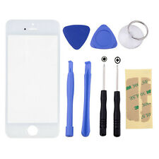 Replacement Front Outer Screen Glass Lens For Apple iPhone 5S With 8 Tools Kits