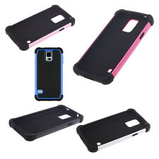 Hard PC + Shock Absorbing Silicone Hybrid Case for Samsung Galaxy S5 HY