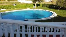 Self catering holiday villa in torrox park sleeps 8 communal pools and t/courts