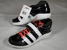 New Mens Adidas Adizero Javelin 2 Track Field Spikes Shoes Black White 11 & 12