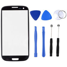 Replacement Front Outer Screen Glass Lens Kit For Samsung Galaxy S3 i9300 + Tool